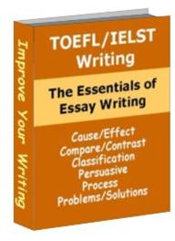 toefl essay writing book